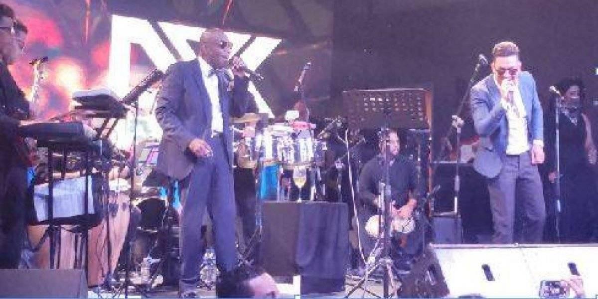 """Michel """"El Buenón"""" celebró 35 años en la salsa"""