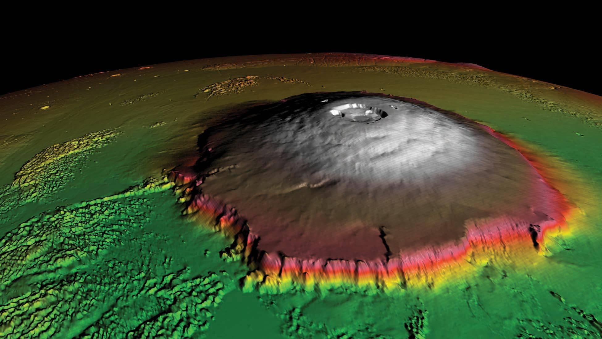 Monte Olimpo Marte