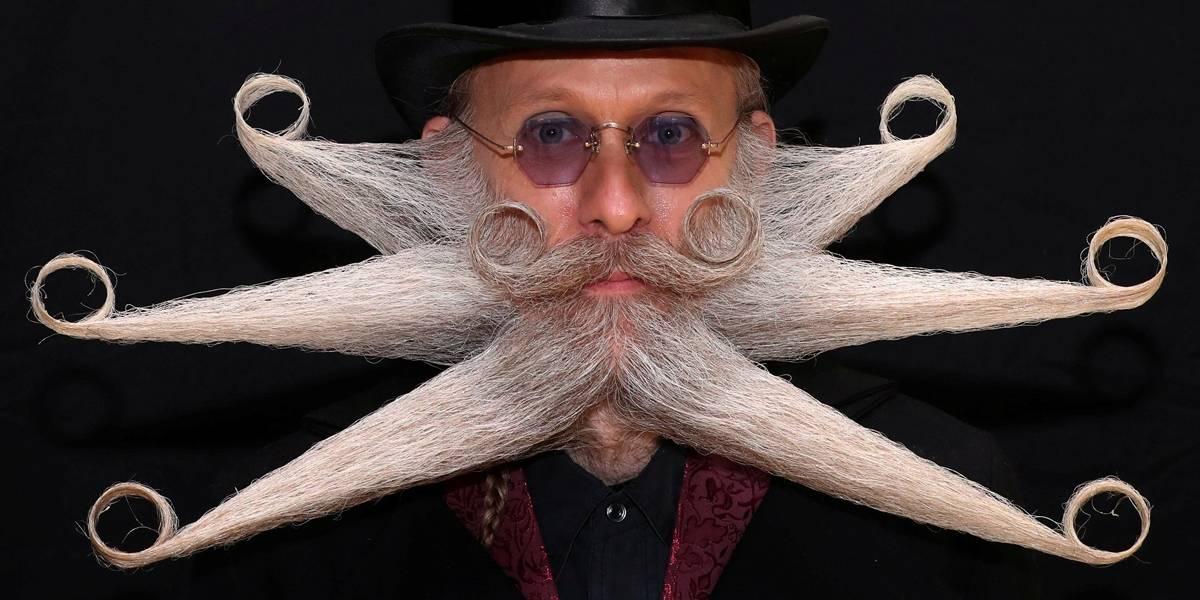 Barba e bigode em estado de arte disputam campeonato; veja fotos