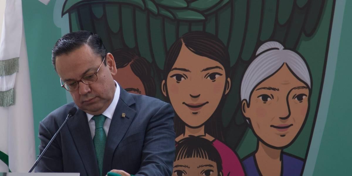 Por diferencias con la SHCP, renuncia Germán Martínez al IMSS