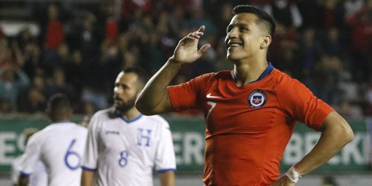 """Sánchez llegó a Chile para preparar la Copa América y presenciar el estreno de su película """"Mi amigo Alexis"""""""