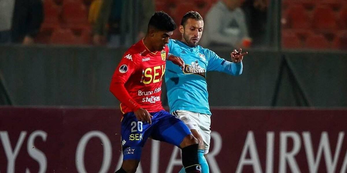 Así vivimos la goleada que sufrió Unión Española ante Sporting Cristal por la Copa Sudamericana