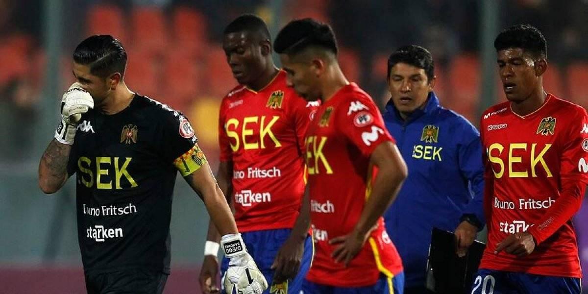 Unión Española hipotecó sus opciones en la Copa Sudamericana tras ser goleado por Sporting Cristal