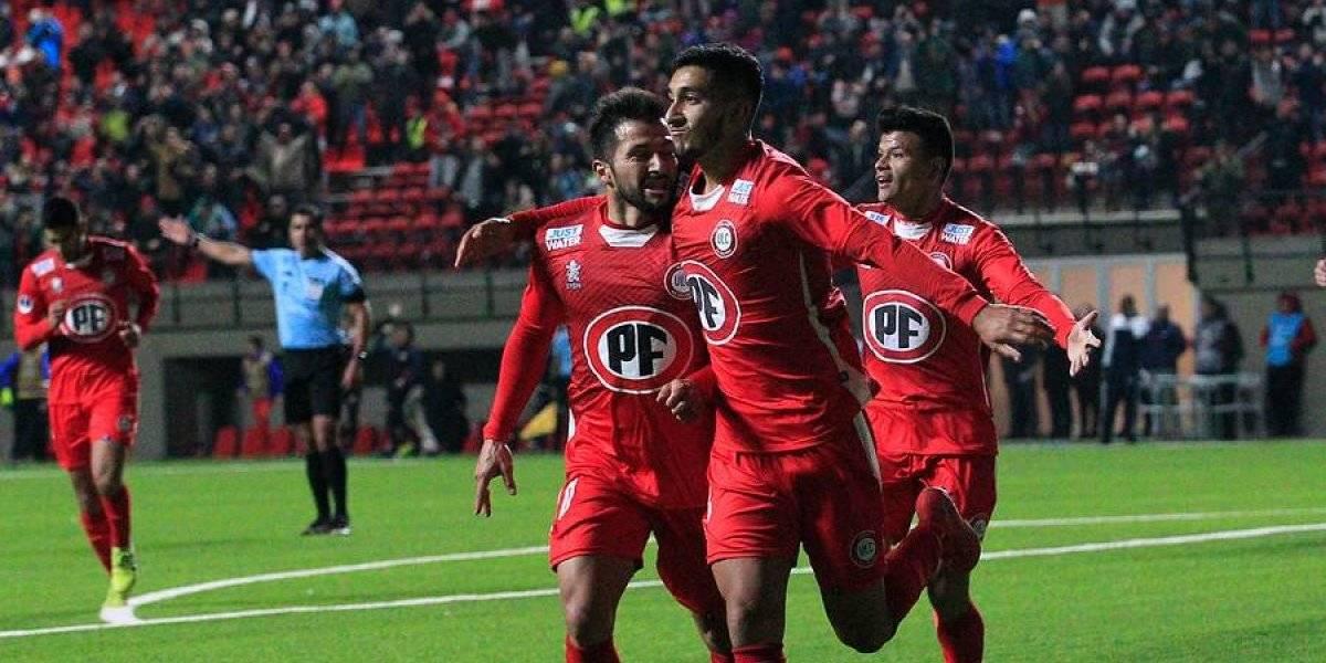 Unión La Calera se hizo respetar en casa y logró un valioso triunfo ante Atlético Mineiro por la Copa Sudamericana