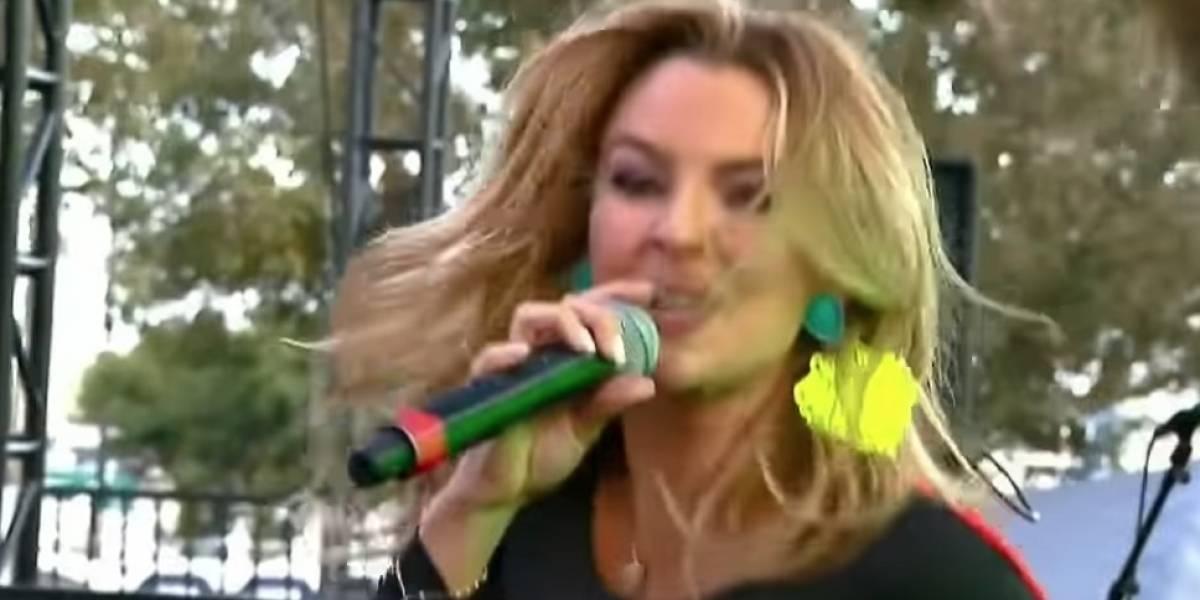 Marjorie de Sousa debuta como cantante en Parada Gay en Los Ángeles