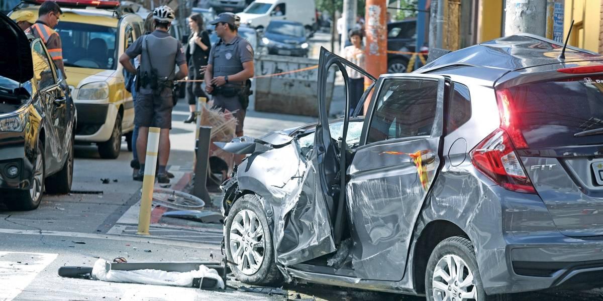 Mortes em carros sobem neste ano em São Paulo