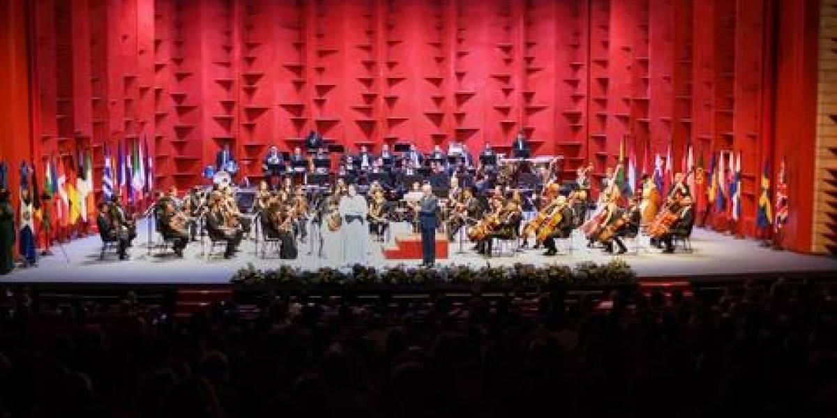 """Unión Europea realizó concierto sinfónico """"Unidos por la diversidad"""""""