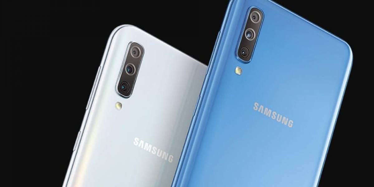 El Samsung Galaxy A70 llega a México y este es su precio oficial