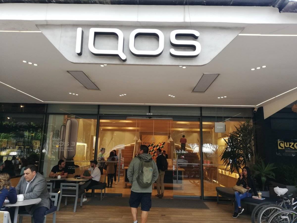 Boutique de IQOS en Bogotá Colombia Metro Ecuador