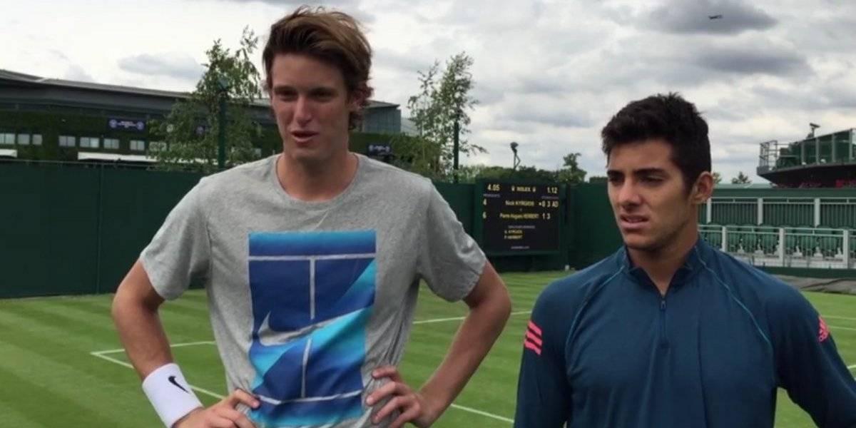 Un Príncipe y un Tanque unidos: Jarry con Garin se prepararán para las Finales de la Davis haciendo dupla en Wimbledon