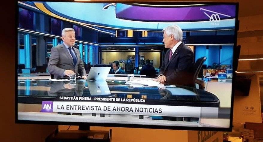 Piñera en Mega