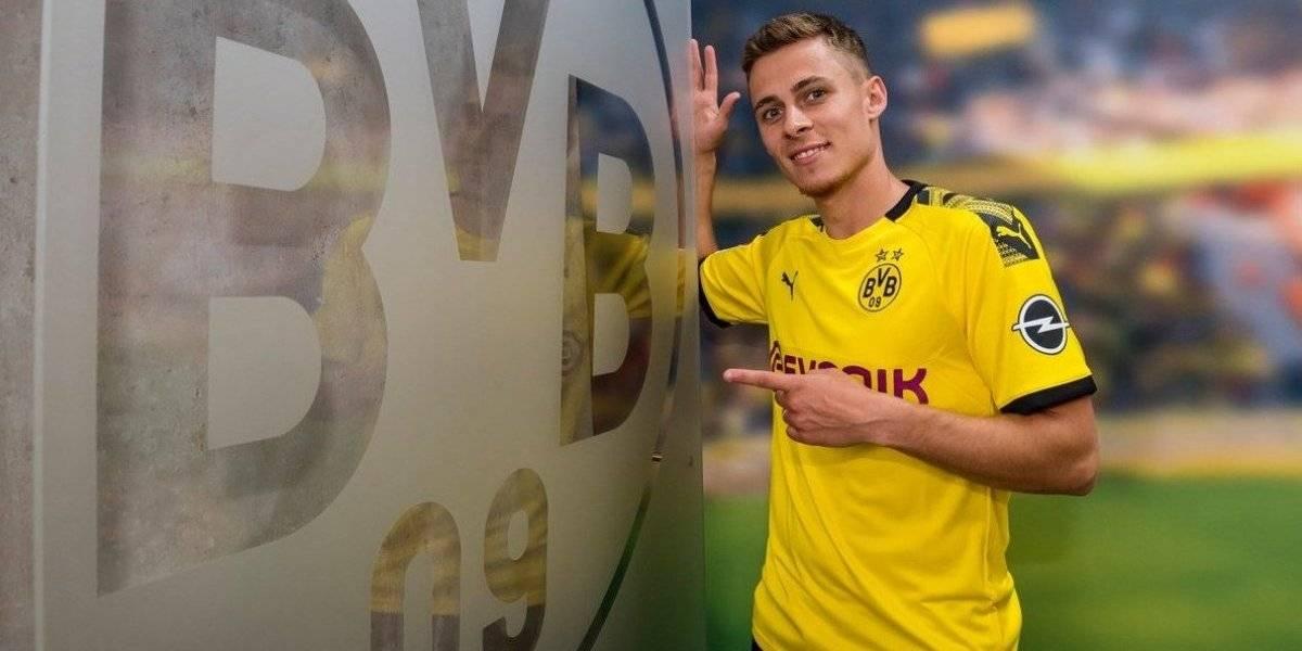 Borussia Dortmund se movió rápido y fichó a Hazard para ser el reemplazante de Pulisic