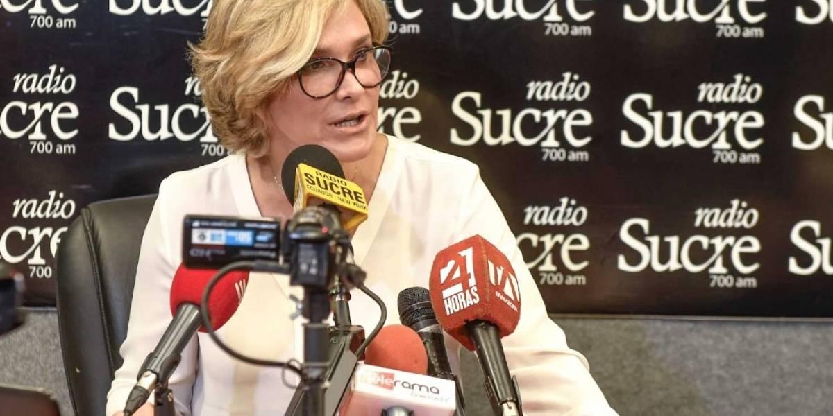 Cynthia Viteri anuncia reducción del 75% del valor de multas de tránsito