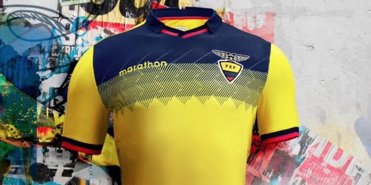 Selecciones de Ecuador tienen su nueva camiseta para la Copa América y el Mundial Sub 20