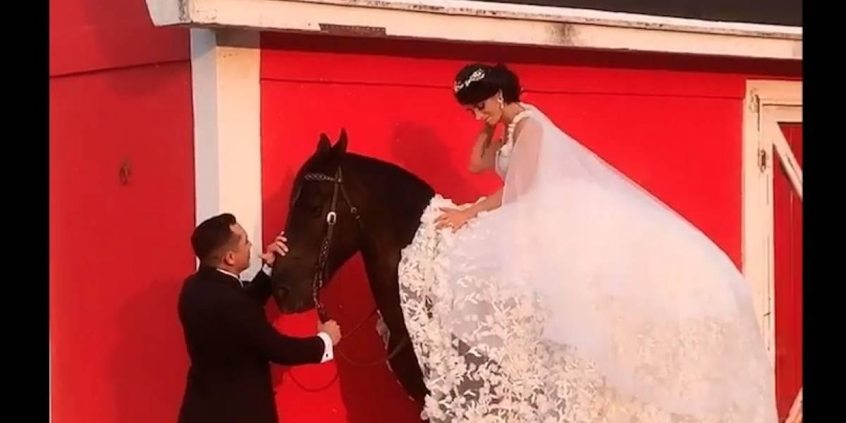 Edwin Luna y Kim Flores sorprenden con sesión de fotos dos meses antes de la boda