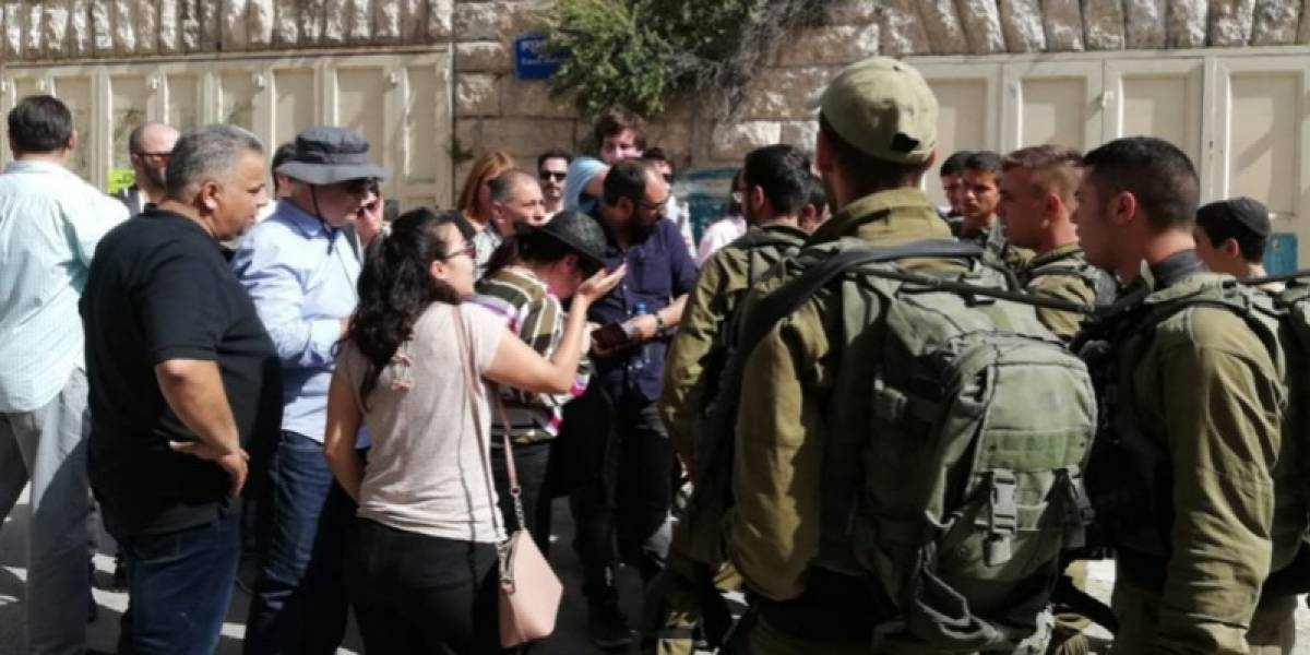 """Políticos chilenos experimentaron """"momento tenso"""" en Hebrón con el ejército de Israel"""