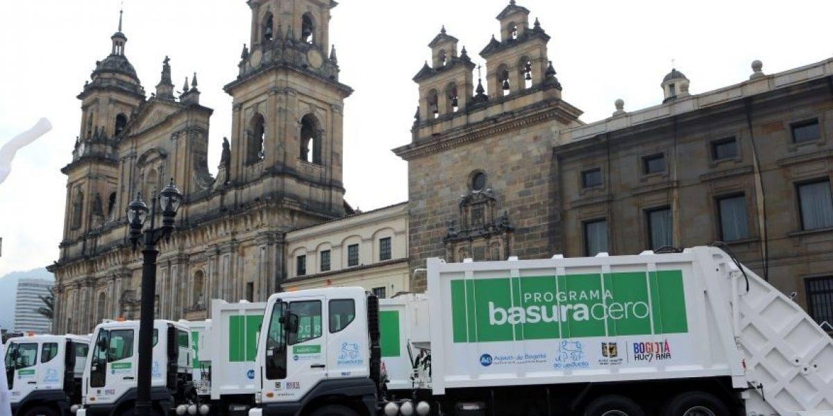 Subasta de camiones de basura de Aguas de Bogotá sólo dejó $3600 millones