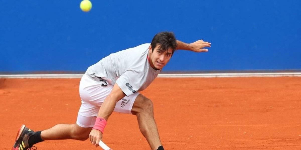 Cristian Garin volvió con problemas al circuito ATP y cayó en Ginebra en la antesala a Roland Garros