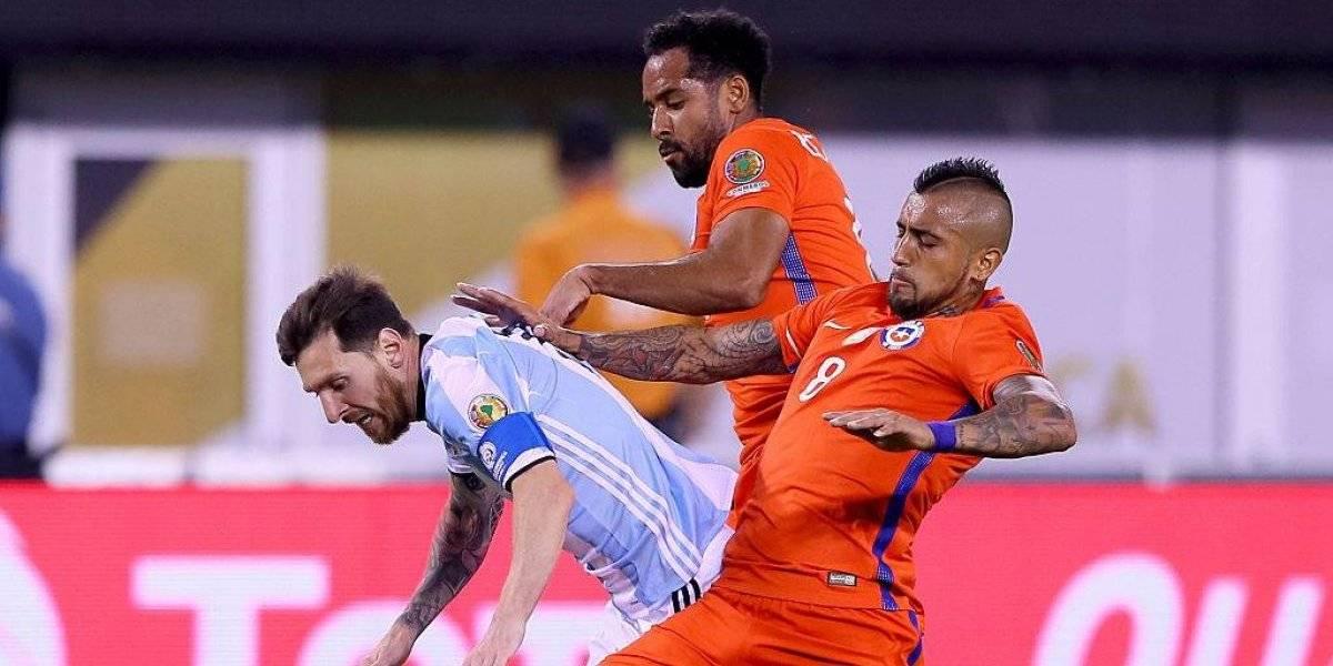 ¿Y el tricampeonato de la Roja? Arturo Vidal quiere que Lionel Messi gane la Copa América con Argentina