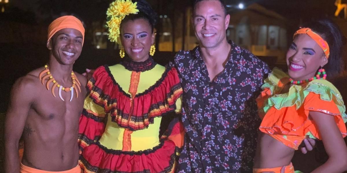 "Rodrígo Díaz y Koke Ñúnez trasladaron ""Rojo"" al Caribe"