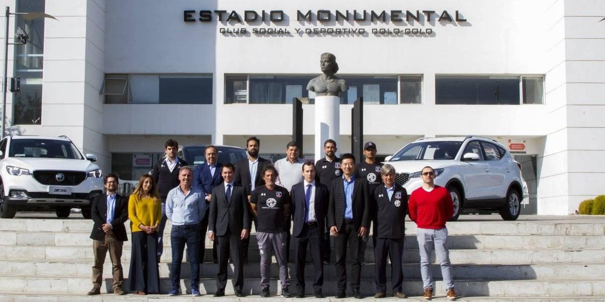 MG Motors le pone ruedas a Colo Colo con sus autos