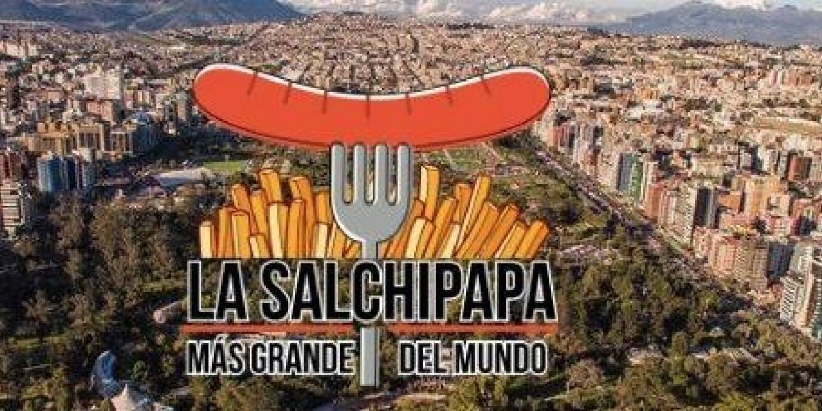 La salchipapa más grande del mundo la tendrás en Quito para romper récord