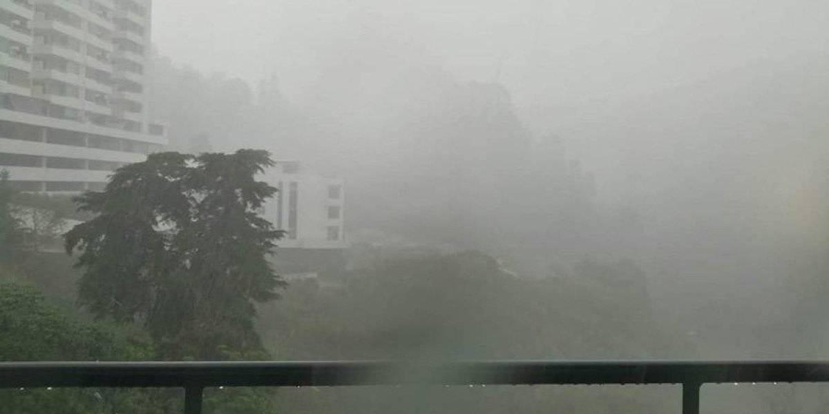 Más de 263 mil personas han sido afectadas por la lluvia