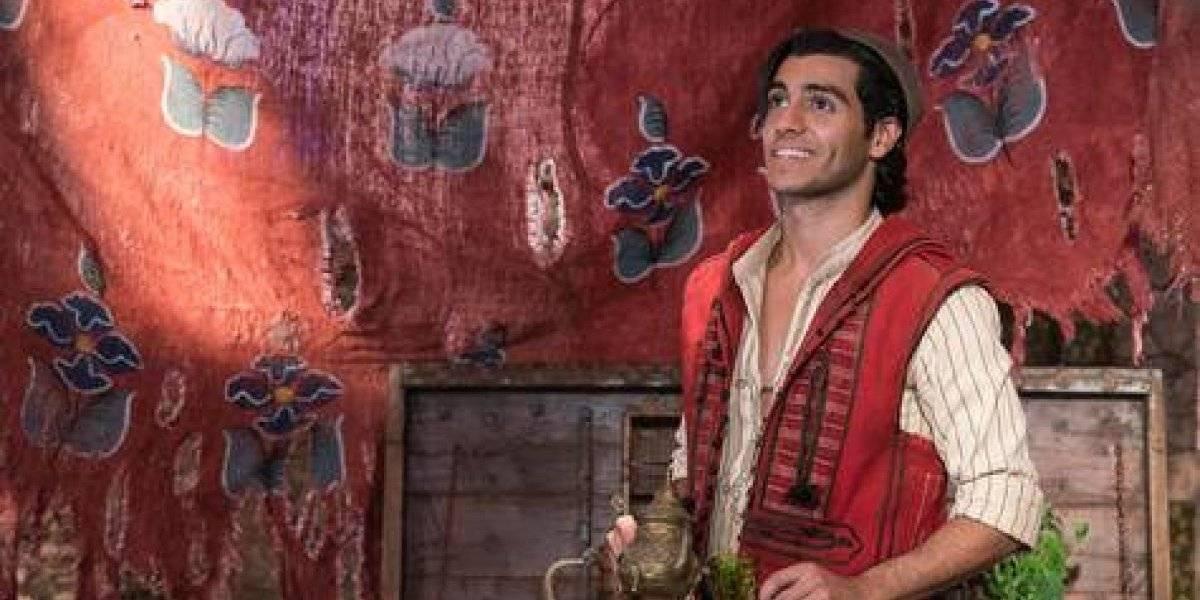 "Mena Massoud: ""Tuve que aprender mucho para interpretar a Aladdin"""