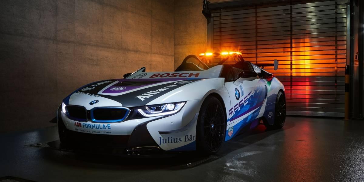 BMW i presenta el nuevo Safety Car de la Fórmula E