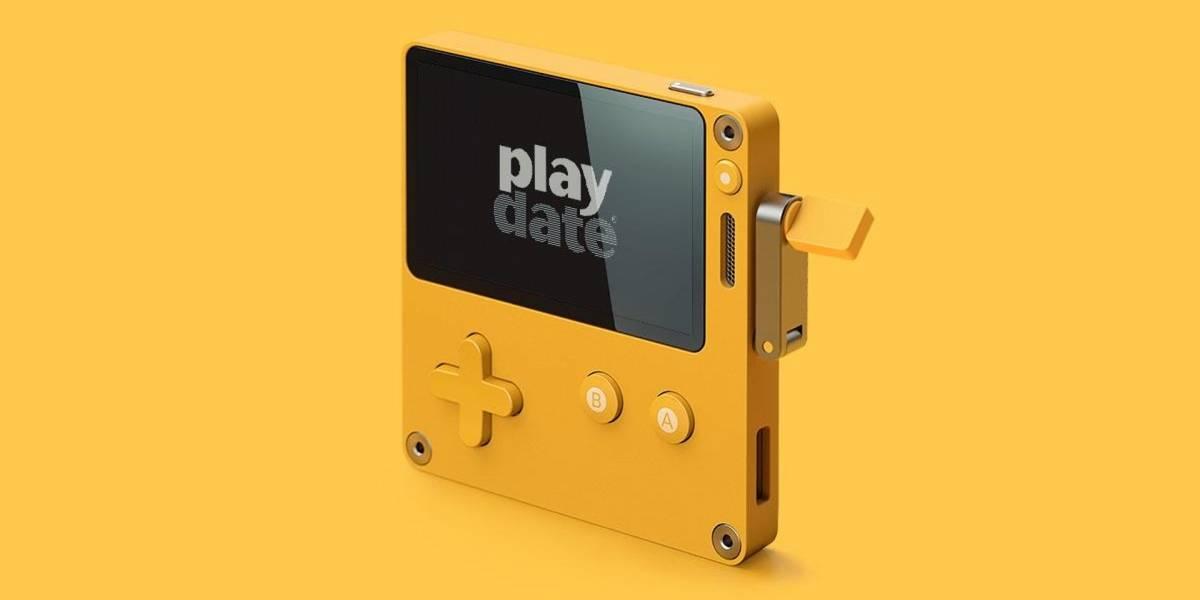 Anunciada Playdate, una consola portátil tan bonita como extraña