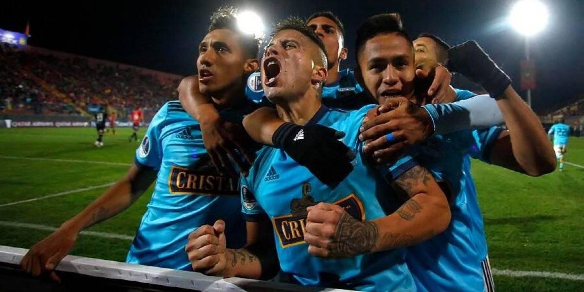"""""""Pintó Chile de celeste"""": En Perú se volvieron locos con la goleada de Cristal sobre Unión Española"""