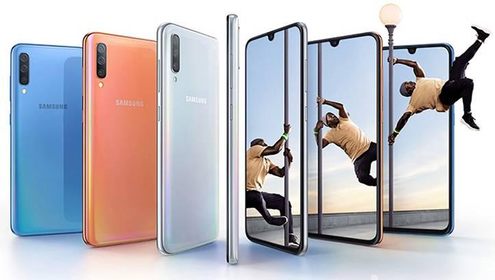 Samsung Galaxy A70 México