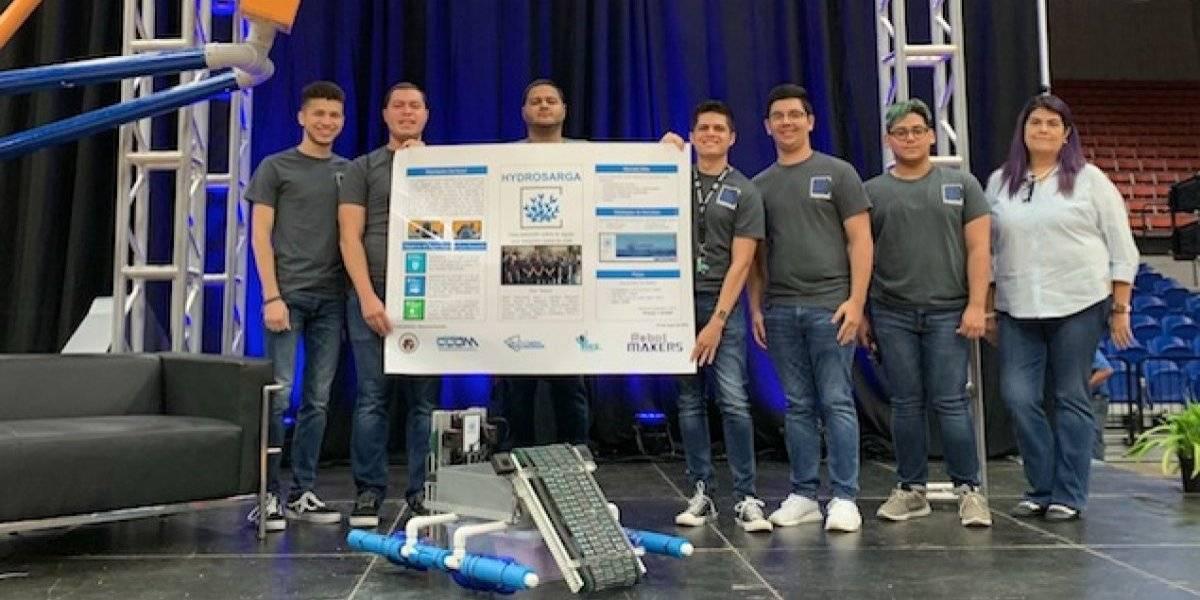 UPR de Arecibo gana competencia de Robótica Empresarial