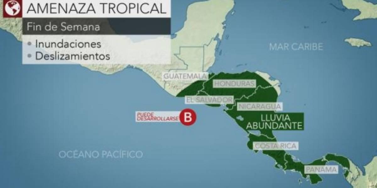 Se forma primer sistema tropical en Centroamérica