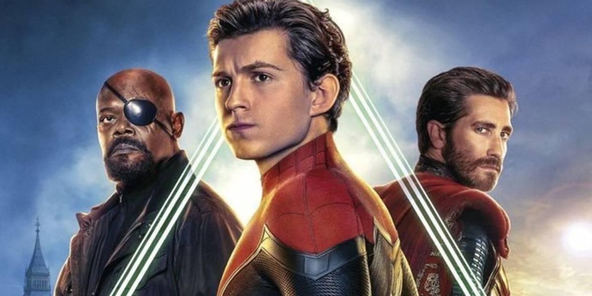 Spider-Man: Far From Home estrena nuevos pósters donde aparecen Fury y Mysterio