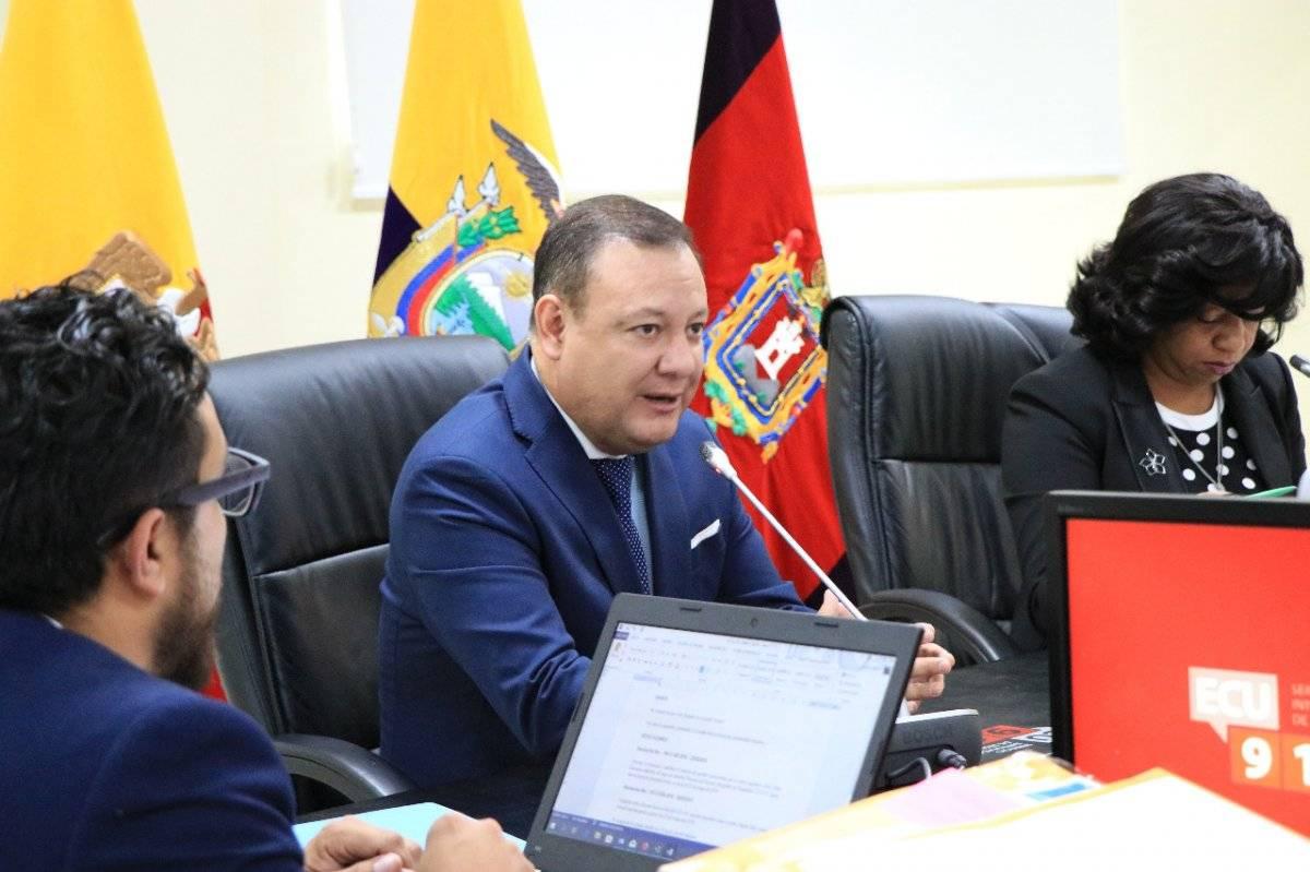 Juan Zapata, titular del ECU 911