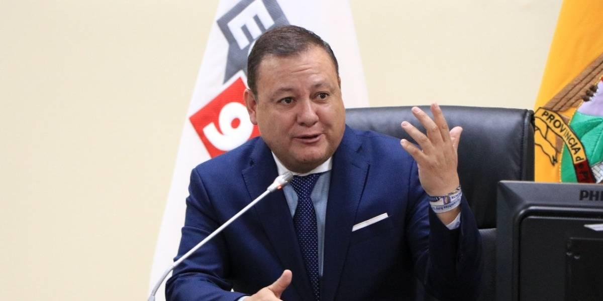 Juan Zapata fue posesionado como Director General del ECU 911