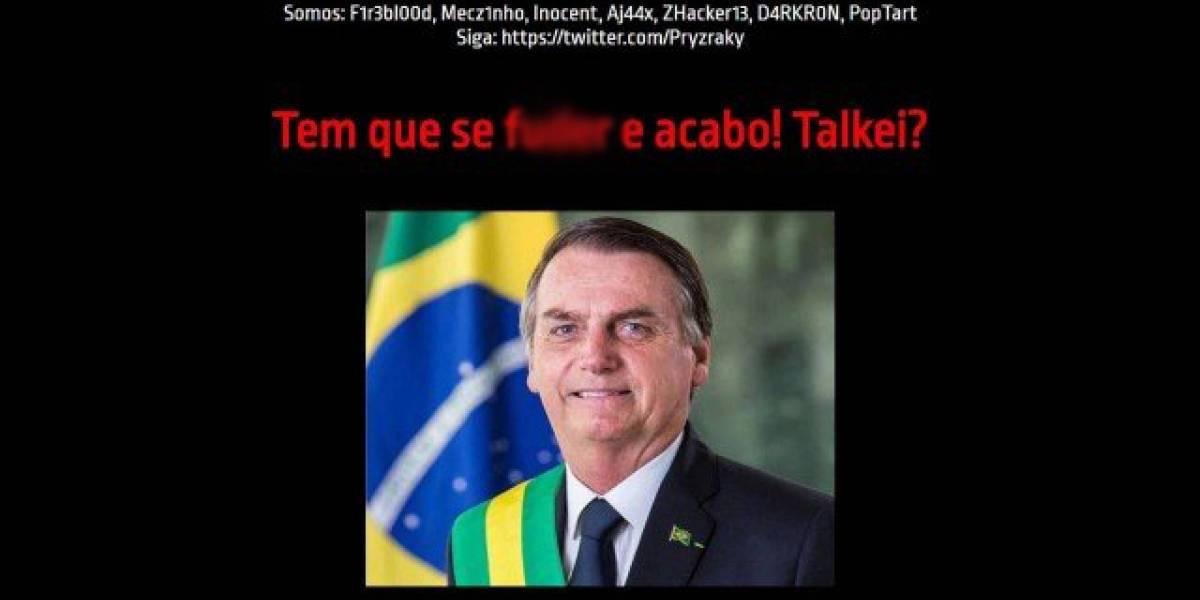 Hackers invadem site do PSOL-RJ e publicam meme com foto de Jair Bolsonaro