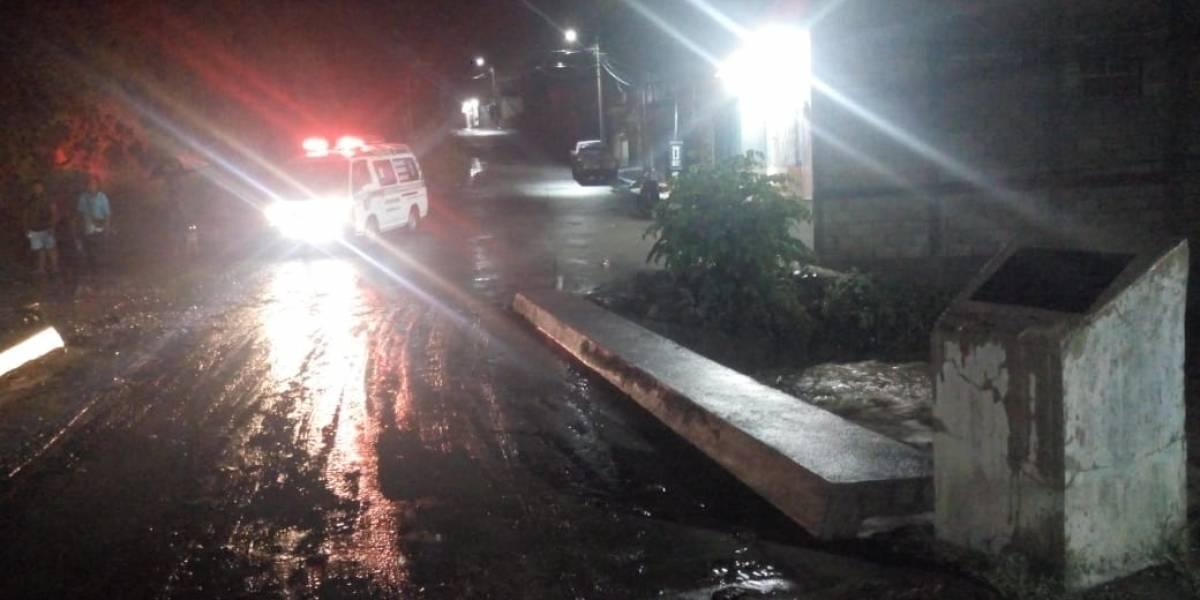 Conred: Siete departamentos en riesgo por incremento de lluvia