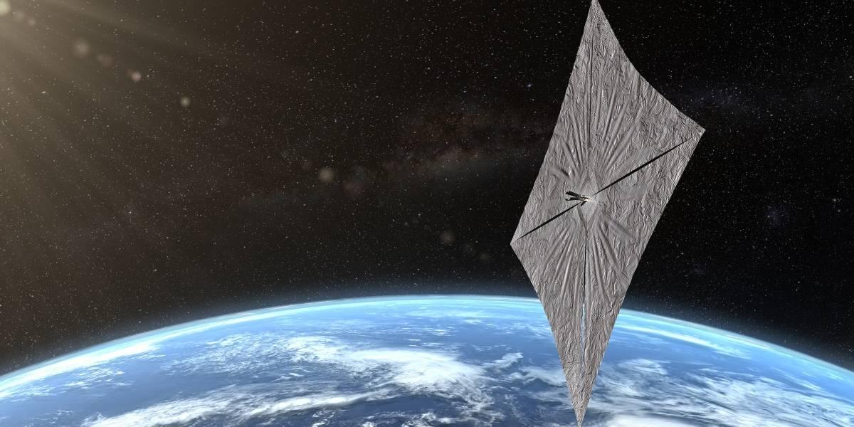 Al infinito y más allá propulsado por energía solar: esta es la nave que lo quiere hacer realidad