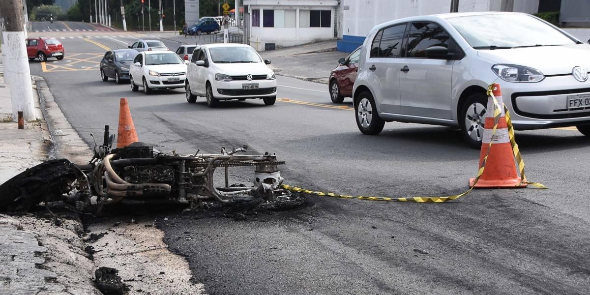 Motociclistas morreram mais que pedestres no trânsito de São Paulo em 2018