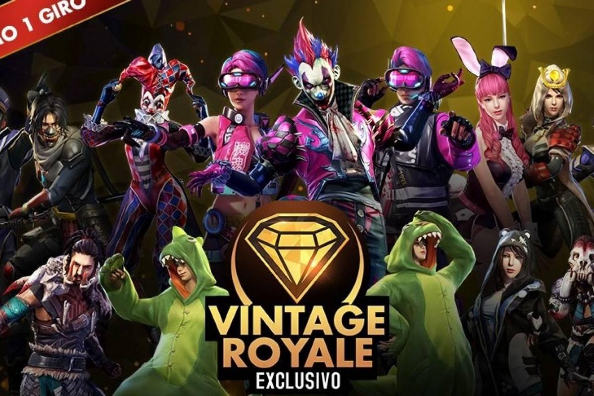 'Vintage Royale': Garena Libera Novidade Para O Game Free