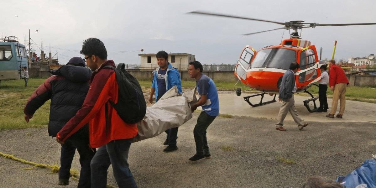 Dos muertos por taco en la punta del Everest