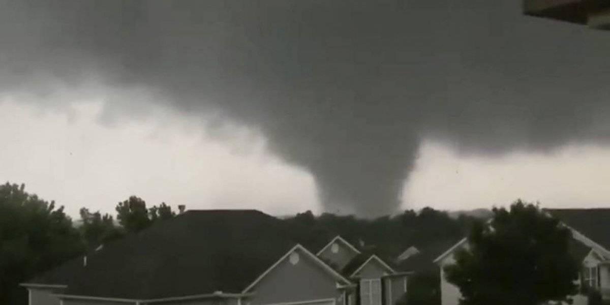 Tormentas y tornados amenazan sur de Estados Unidos