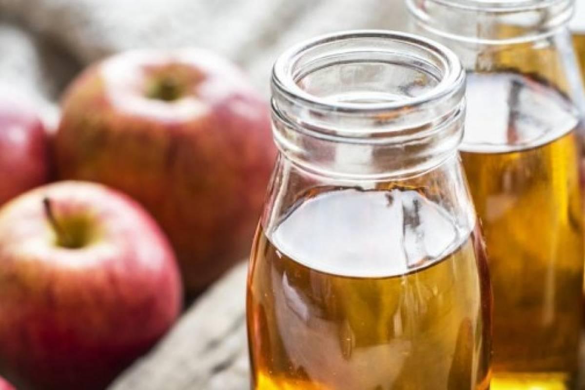 vinagre de manzana, bueno para la próstata