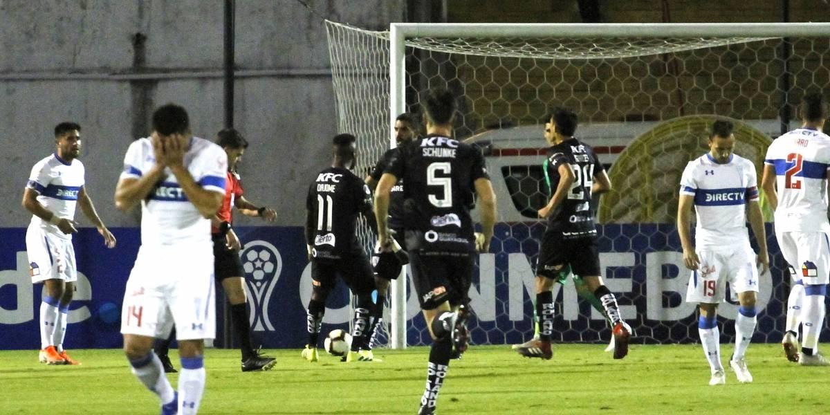 La UC dio pena en Quito ante Independiente del Valle y está prácticamente fuera de la Copa Sudamericana