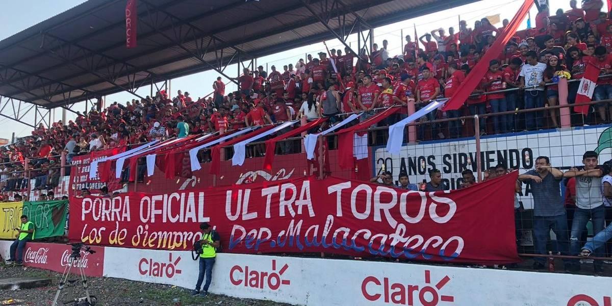 Malacateco llena el estadio Santa Lucía desde temprano