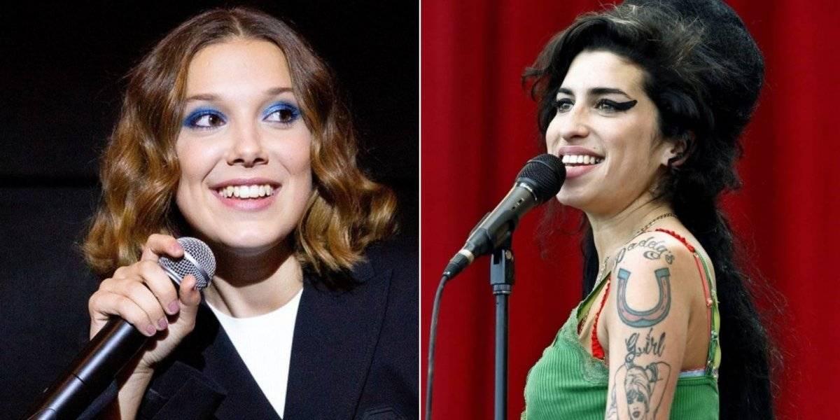 Millie Bobby Brown, a Eleven de Stranger Things, impressiona com imitação de Amy Winehouse