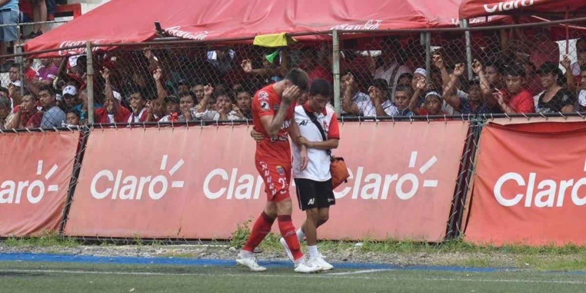 Alarma roja en Malacateco tras emergencia de su goleador