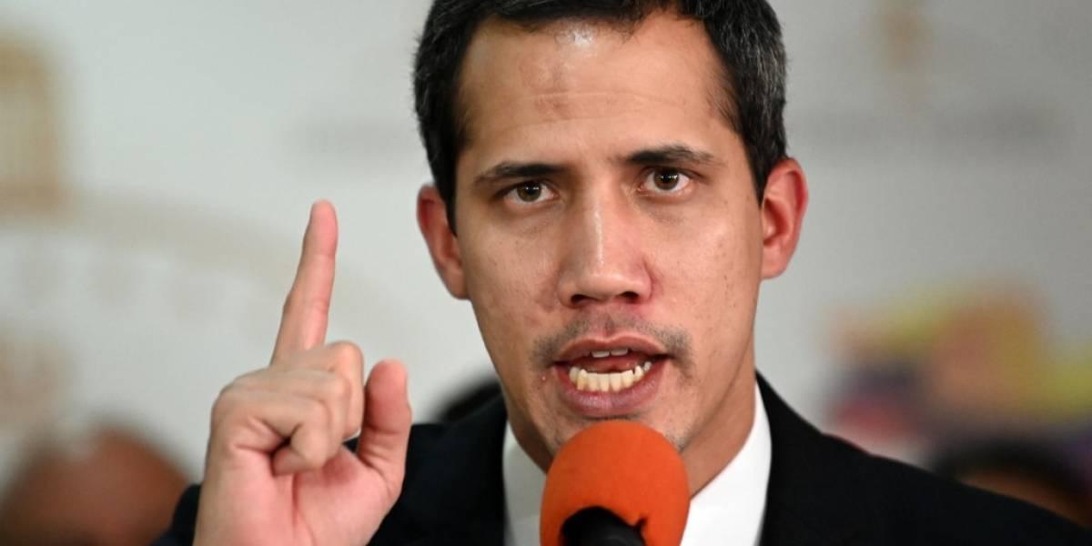 """Guaidó: """"Maduro debe decidir si sale por la fuerza en Venezuela"""""""